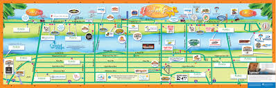 Map Of Beaches In Florida by Street Map Of Daytona Beach Florida You Can See A Map Of Many