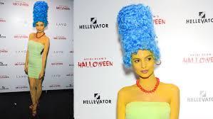 Marge Simpson Halloween Costume 2015 Celebrity Halloween Costumes 18 21 15 Celebs