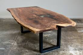 dining tables how to make a wood slab dining table metal legs