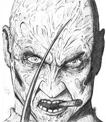 freddy vs jason coloring pages ziho coloring