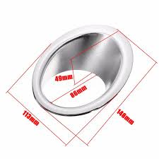 nissan qashqai horn not working pair chrome front fog light lamp covers trim ring for nissan