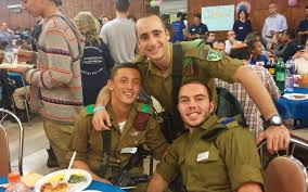 away from family israel s lone soldiers are thankful for