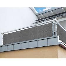 sichtschutz balkon grau balkon sichtschutz nach maß in grau meterware langlebiges uv