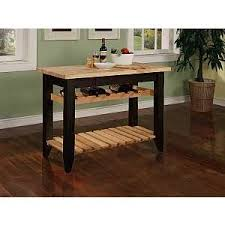 kitchen island shop black kitchen work table with wine rack work tables kitchen