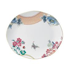 butterfly platter butterfly bloom oval platter discontinued wedgwood us