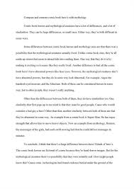 bunch ideas of example of comparison and contrast essay on resume