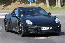 Spied New 2013 Porsche Cayman Shows Its Face On The U0027ring