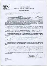 bid bond invitation to bid 2016