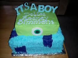 monsters inc baby shower cakes home decorating interior design