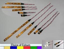 Strip Led Lights Ebay by Quality 9v 12v Dc 3528 Led Supaflex Lighting Strip Model Railway N
