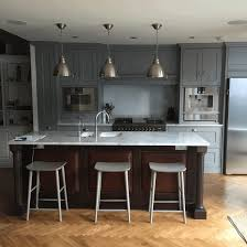 Antique Black Kitchen Cabinets Gray Kitchen Cabinets Ideas Polished Brown Granite Countertop