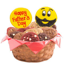 Father S Day Baskets Father U0027s Day Emoji Cookie Basket Cookies By Design