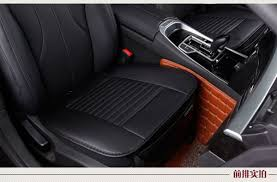 Leather Chair Cushions And Pads Amazon Com Edealyn Soft Pu Leather Car Seat Cover Universal