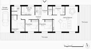 plan de maison 6 chambres plan maison plain pied 3 chambres nouveau plan maison 6 chambres