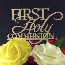 communion cake toppers buy cake topper communion and get free shipping on