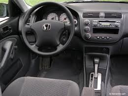 inside of a honda civic honda civic 2001 2005 expert review