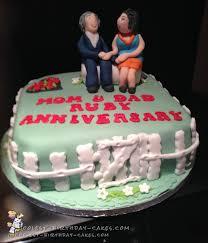 anniversary cake coolest 40th wedding anniversary cake