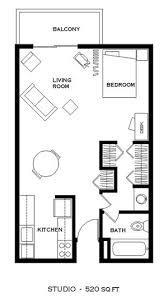 520 Sq Ft Kensington Apartments In Boulder Colorado