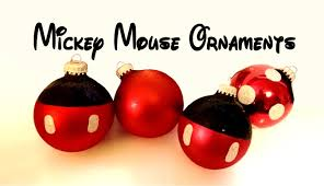 mickey mouse ornaments the future we follow