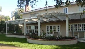 Aluminum Wood Patio by Covered Patio Ideas Open Patio Cover With Radius The Patio Man