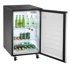 Pony Keg Kegerator Stainless Steel Beer Kegerator Refrigerator