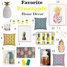 Pineapple Home Decor by Blog U2014 Gail Wright At Home