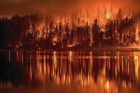Wildfire Chicago by Climate Change May Add Billions To Wildfire Costs Study Says La