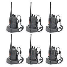 amazon com baofeng bf 888s two way radio pack of 6pcs radios