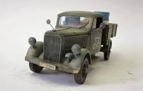 german opel blitz truck panzerserra bunker military scale models in 1 35 scale opel