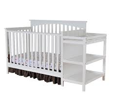 Crib And Changing Table Baby Relax Emma 2 In 1 Crib And Changing Table Combo Gray One