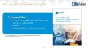 ellie mae elli investor presentation slideshow ellie mae