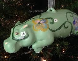 hippo decor etsy