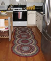 kitchen accessories bamboo kitchen floor mats under white wooden