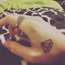 the 25 best small diamond tattoo ideas on pinterest diamond