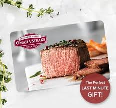 omaha steaks gift card omaha steaks after christmas sale save up to 76 on steaks milled