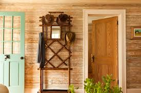 Entryway Mirrors Pretty Standing Coat Rack In Entry Traditional With Pine Doors