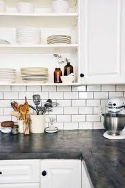 subway tiles backsplash ideas kitchen 29 countertops that aren t marble and why we them white