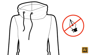 how to sketch fashion flats in illustrator without the pen tool