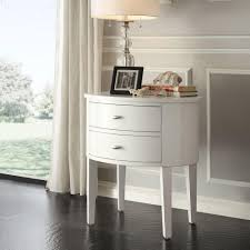 ballard designs sidney side table with charging station by chester white side table
