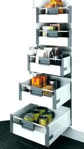 meuble tiroir cuisine tiroir coulissant pour meuble cuisine