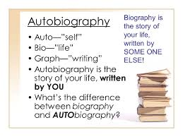 biography an autobiography difference styles terms and selections ppt download
