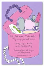 make up case invitations myexpression 3299