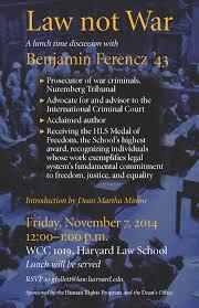 november 2014 human rights harvard law