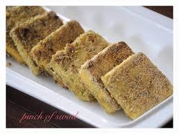 pinch of swad rice chakli pinch of swad tofu fry pinch of swad tofu chutney