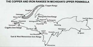 Map Of Upper Michigan by The Mining Industry U2013 Michigan History