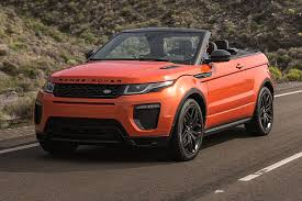 land rover convertible black roofless streak range rover evoque finally goes convertible for