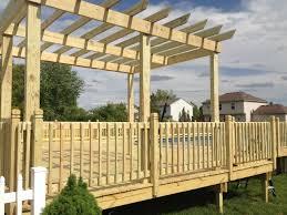 toledo ohio deck u0026 patio contractors horizon contractors
