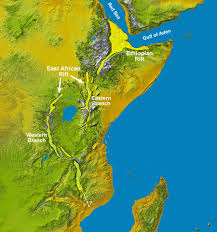 Topographic Map Of The World by East Africa U0027s Great Rift Valley A Complex Rift System
