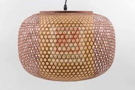 Japanese Ceiling Light Japanese Ceiling Lighting Woven Bamboo Flat Asian Living