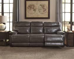 Power Recliner Sofas Signature Design By Palladum Metal Power Reclining Sofa
